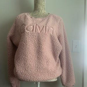 Calvin Klein fleece sweat shirt